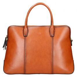 Elegantní dámská kožená kabelka Katana Celesta - koňak