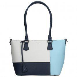 Dámská kabelka Hexagona 505242 - modro-bílá