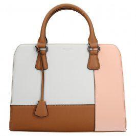 Dámská kabelka Hexagona 505235 - bílo-růžová