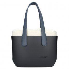 Dámská trendy kabelka Ju'sto J-Wide Andrea - černo-modrá