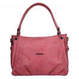 Dámská kabelka Hexagona 784604 - růžovo-červená