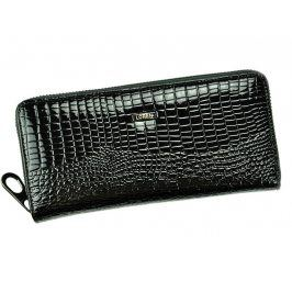 Dámská kožená peněženka Loren Vilma - černá