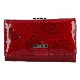 Dámská kožená peněženka Lorenti Amanda - červená