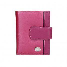 Dámská kožená peněženka DD Anekta Hana - růžová