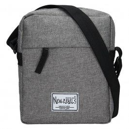 Pánská taška přes rameno New Rebels Luis - šedá