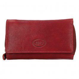Dámská kožená peněženka DD Anekta Marta - červená