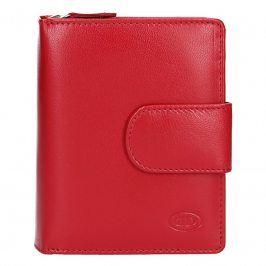 Dámská kožená peněženka DD Anekta Fiona - červená
