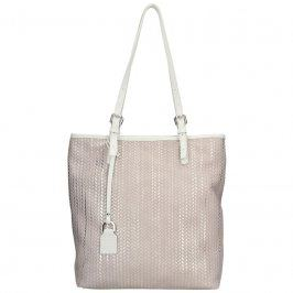 Dámská kožená kabelka Facebag Nora - zlato-béžová
