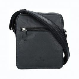Pánská kožená taška na doklady Hexagona Bredy - černá