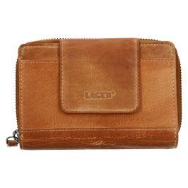 Dámská kožená peněženka Lagen Agáta - světle hnědá