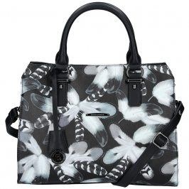 Dámská kabelka Hexagona 314614 - černo-bílá