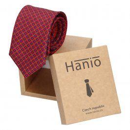 Pánská kravata Hanio Luis - červená