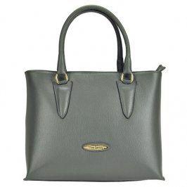 Dámská kožená kabelka Pierre Cardin Annie - šedá