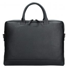 Dámská kožená taška na notebook Katana Emma - černá