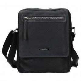 Pánská kožená taška přes rameno SendiDesign Trevor - černá