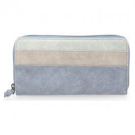 Dámská peněženka Tamaris Khema Big Zip - modrá