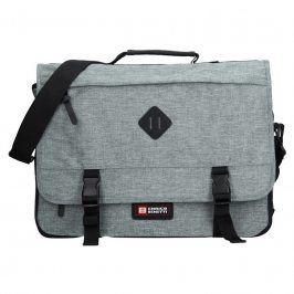 Pánská taška přes rameno Enrico Benetti 54548 - světle šedá
