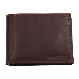 Pánská kožená peněženka SendiDesign 5601 (P) VT - hnědá
