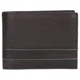 Panská kožená peněženka SendiDesign 48 - hnědá