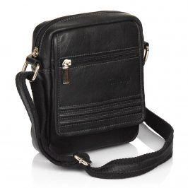 Pánská kožená taška na doklady SendiDesign 794 - černá