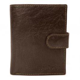 Pánská kožená peněženka SendiDesign 1047L - hnědá
