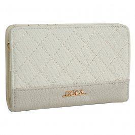 Dámská peněženka Doca 64691 - krémová