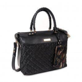 Dámská kabelka Doca 12890 - černá