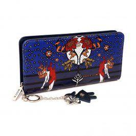 Dámská peněženka Doca 64843 - modrá