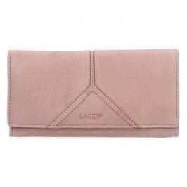 Dámská kožená peněženka Lagen Frela - růžová