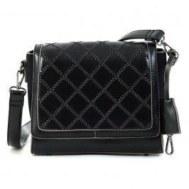 Dámská crossbody kabelka Doca 15253 - černá