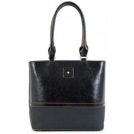 Dámská kabelka Doca 15667 - černá