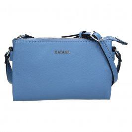 Kožená dámská crosbody kabelka Katana Elisn - modrá