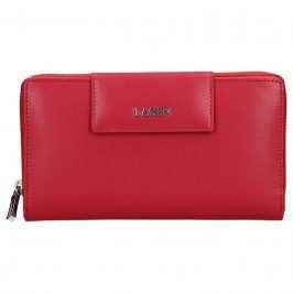 Dámská kožená peněženka Lagen Zora - červená