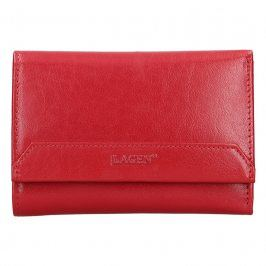 Dámská kožená peněženka Lagen Denisa - tmavě červená