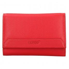 Dámská kožená peněženka Lagen Denisa - červená