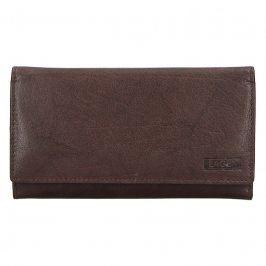 Dámská kožená peněženka Lagen Victoria - tmavě hnědá