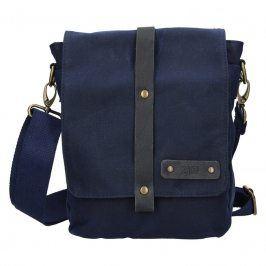 Pánská taška přes rameno 2JUS Borg - modrá