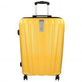 Cestovní kufr Snowball Lada L - žlutá 74l