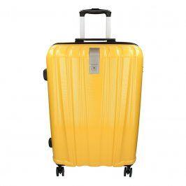 Cestovní kufr Snowball Lada M - žlutá 74l