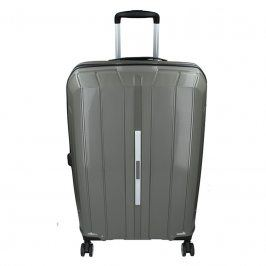 Cestovní kufr Snowball Barcelona M - šedá 65l