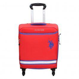 Kabinový cestovní kufr U.S. POLO ASSN Boston S - červená 33l