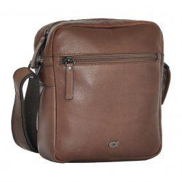 Pánská kožená taška Daag Peter - hnědá
