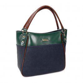 Dámská kabelka Doca 12999 - modrá