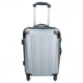 Cestovní kufr Madisson Michaela S - stříbrná 42l