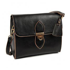 Dámská crossbody kabelka Doca 14527 - černá