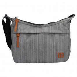 Dámská crossbody kabelka Enrico Benetti 64503 - šedá