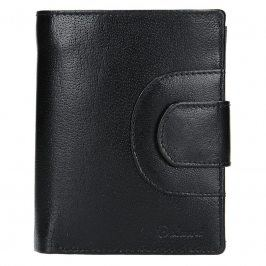 Pánská kožená peněženka Diviley Henry - černá