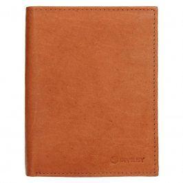 Pánská kožená peněženka Diviley Levin - světle hnědá