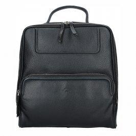 Dámský kožený batoh Katana Radka - černá