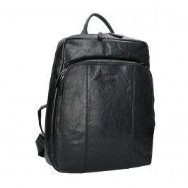 Pánský kožený batoh Justified Arthur - černá